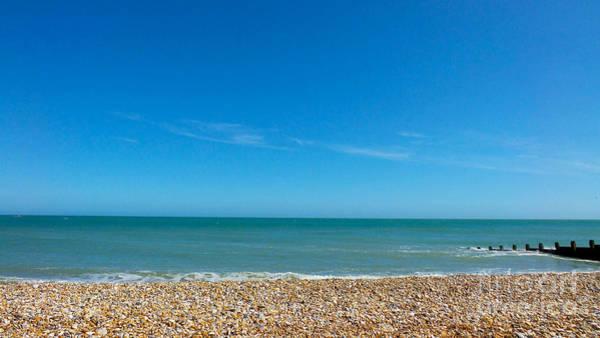 Calming Seaside View Art Print