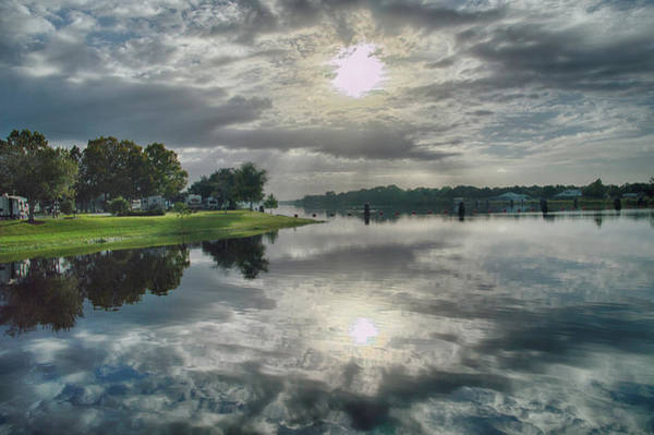 Photograph - Caloosahatchee At Daybreak by Judy Hall-Folde
