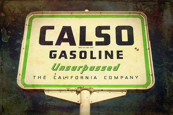 Wall Art - Photograph - Calso Gasoline - #2 by Stephen Stookey