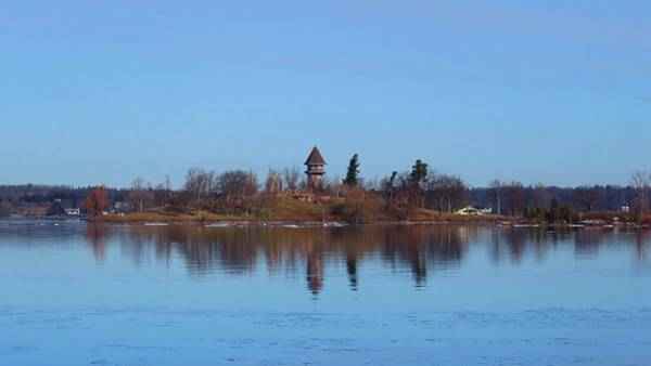 Photograph - Calumet Island Reflections by Dennis McCarthy