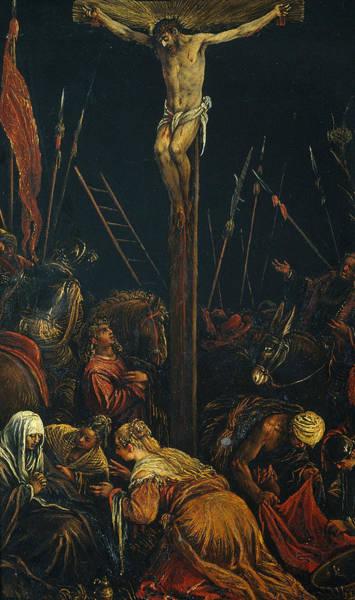 16th Century Painting - Calvary by Jacopo Bassano