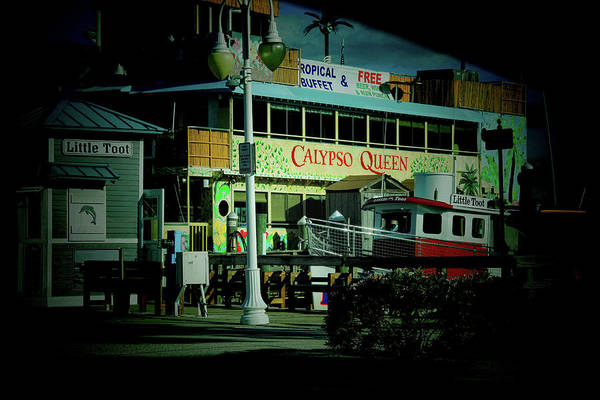 Photograph - Calypso Queen Clearwater Florida by Ola Allen