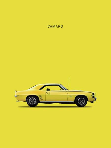 Camaro Wall Art - Photograph - Camaro 69 by Mark Rogan