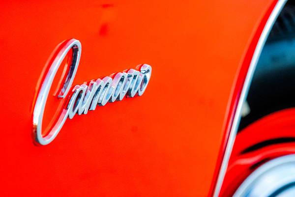 James Craddock Photograph - Camaro by James Craddock