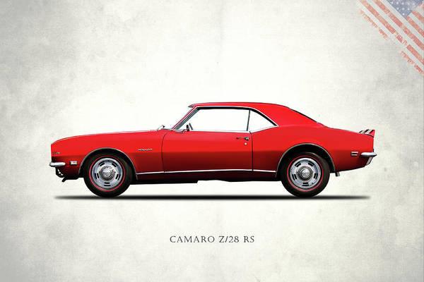 Wall Art - Photograph - Camaro Z 28 1968 by Mark Rogan