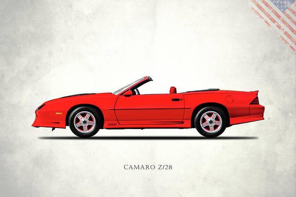 Wall Art - Photograph - Camaro Z 28 1992 by Mark Rogan