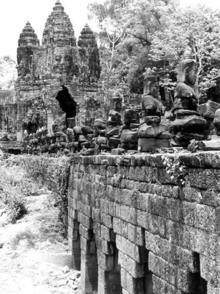 Photograph - Cambodia: Angkor Thom by Granger