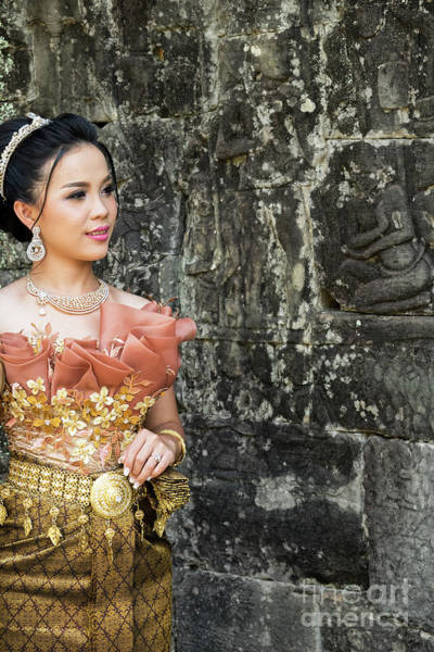 Photograph - Cambodian Bride 01 by Rick Piper Photography