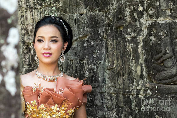Photograph - Cambodian Bride 02 by Rick Piper Photography