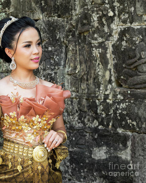 Photograph - Cambodian Bride 03 by Rick Piper Photography