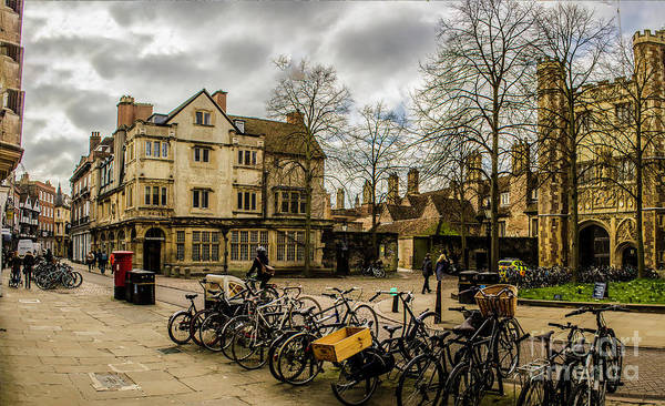 Photograph - Cambridge City by Nigel Dudson