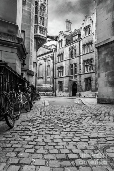 Photograph - Cambridge Cobbled Road by Nigel Dudson