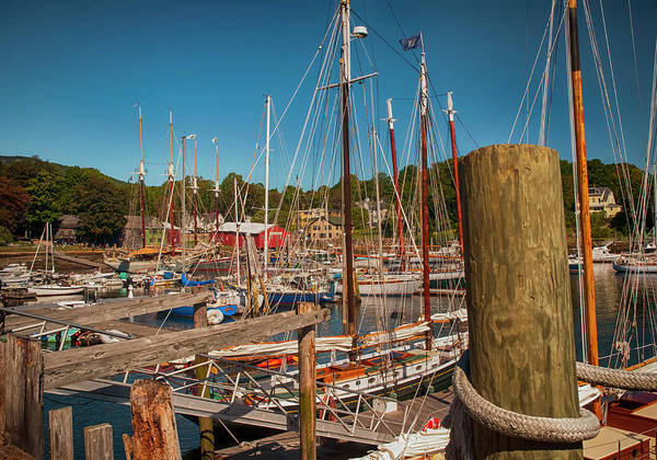 Photograph - Camden Harbor by Mick Burkey