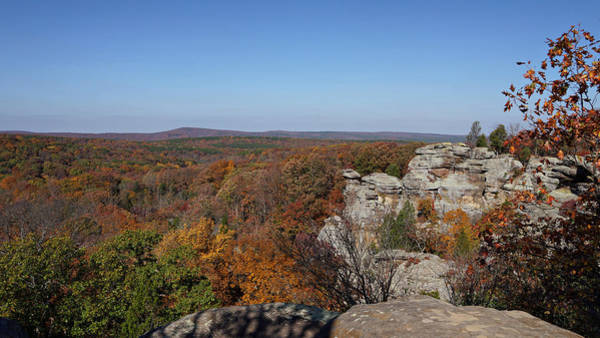 Photograph - Camel Rock In Autumn by Sandy Keeton