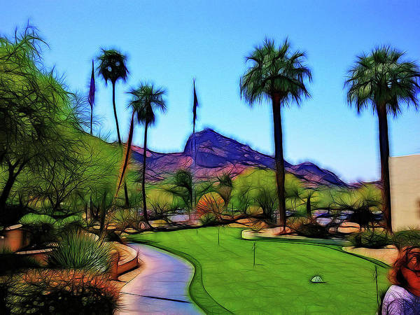 Camelback Mountain Photograph - Camelback Resort by Tim Coleman