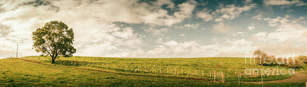 Wall Art - Photograph - Camena Tasmania Country Panorama by Jorgo Photography - Wall Art Gallery