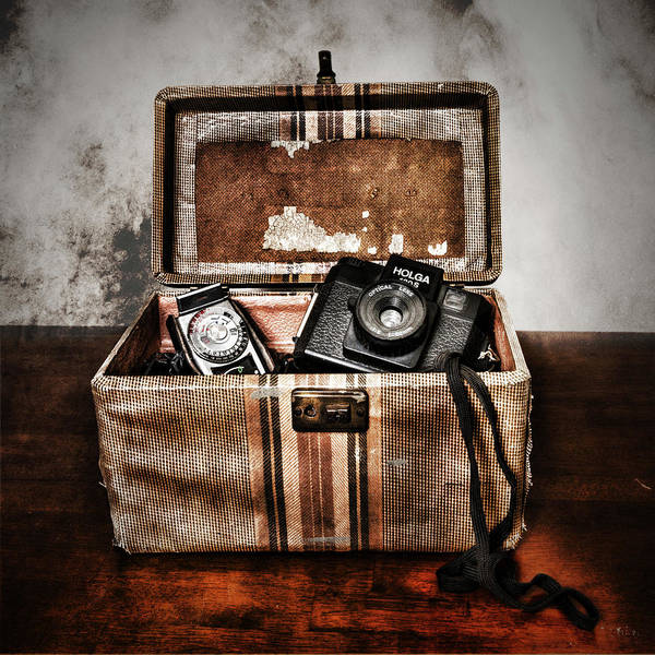 Photograph - Camera Bag by Sharon Popek