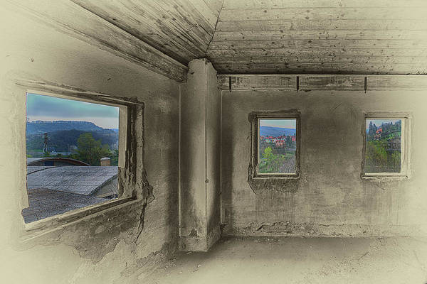 Photograph - Camera Con Vista - A Room With A View by Enrico Pelos