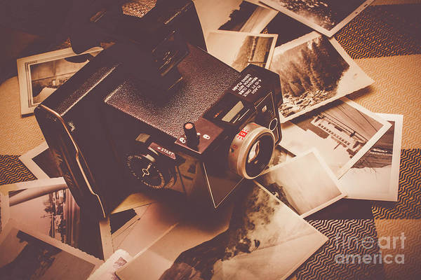 Wall Art - Photograph - Cameras And Scattered Photos by Jorgo Photography - Wall Art Gallery