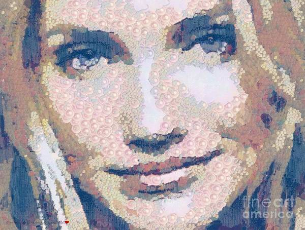 Painting - Cameron Diaz In The Mix by Catherine Lott