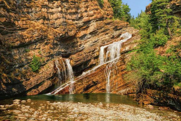 Photograph - Cameron Falls - Alberta, Canada  by Ola Allen