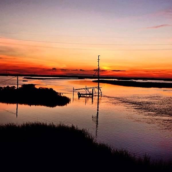 Wall Art - Photograph - Cameron Louisiana Sunset #hwy27 by Scott Pellegrin