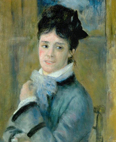 Painting - Camille Monet by Auguste Renoir