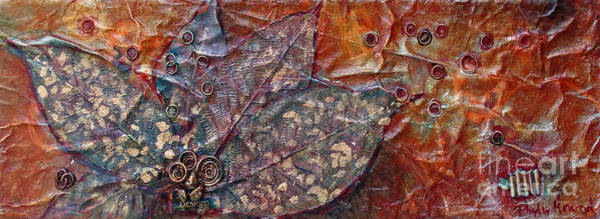 Mixed Media - Camouflage Leaves by Phyllis Howard