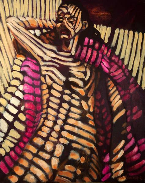 Painting - Camouflage Nap by Jason Reinhardt