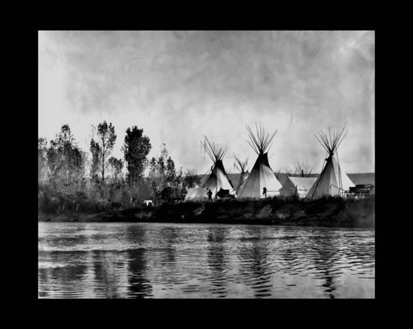 Photograph - Camp At The Little Big Horn by John Feiser