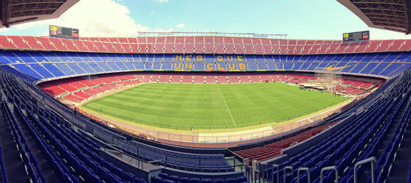 Que Photograph - Camp Nou by Joan Escala