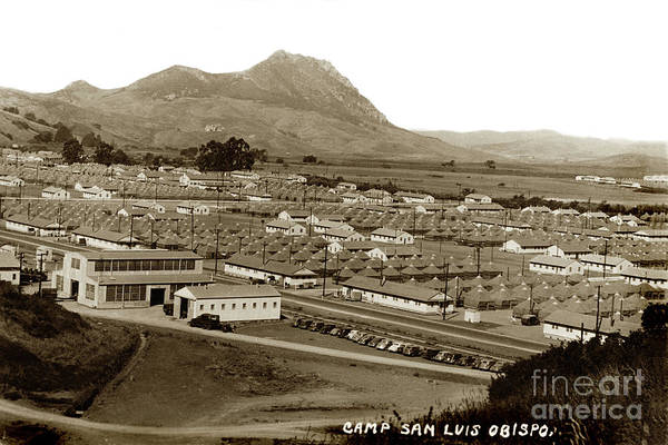 Photograph - Camp San Luis Obispo by California Views Archives Mr Pat Hathaway Archives