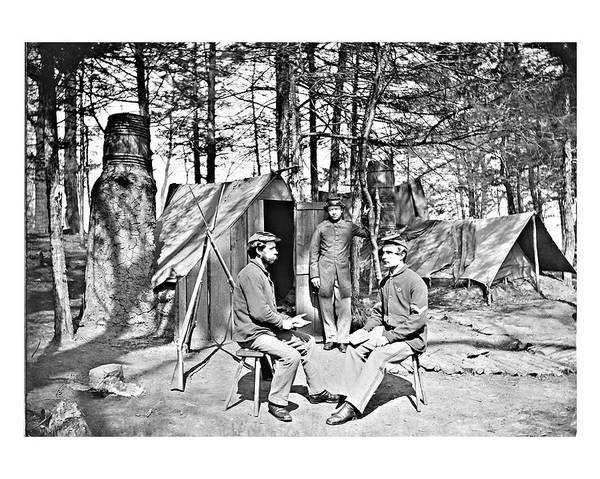 Photograph - Camp Scene 1 by John Feiser