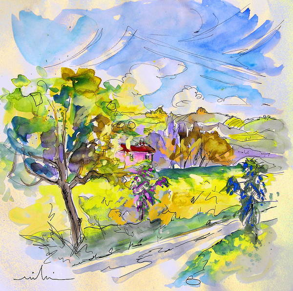 Pyrenees Painting - Campagne Des Pyrenees by Miki De Goodaboom