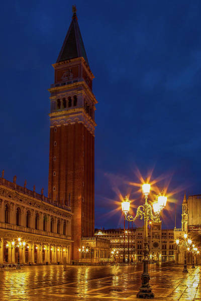 St Andrew Photograph - Campanile Di San Marco by Andrew Soundarajan