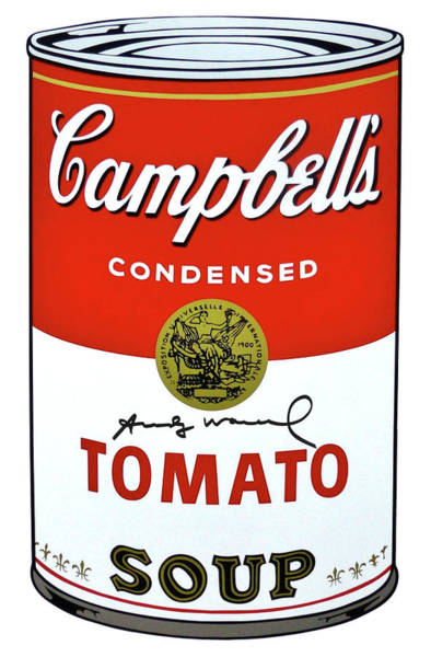 Wall Art - Digital Art - Campbells Soup I, Tomato Soup 46,  by Thomas Pollart