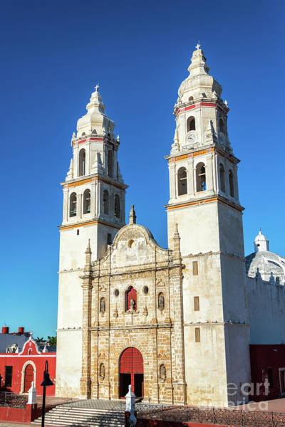 Wall Art - Photograph - Campeche Cathedral View by Jess Kraft