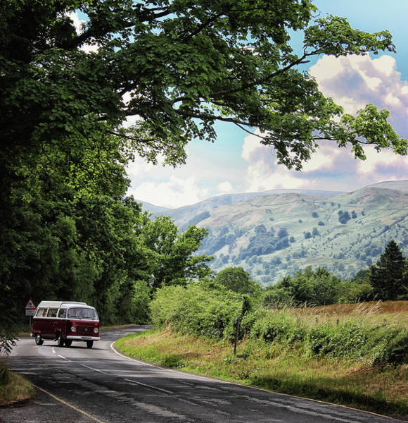 Campsite Wall Art - Photograph - Camper Travels by Martin Newman