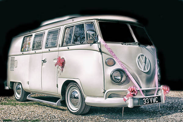 Wall Art - Photograph - Campervan by Martin Newman