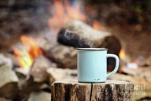Camp Wall Art - Photograph - Campfire Coffee by Stephanie Frey