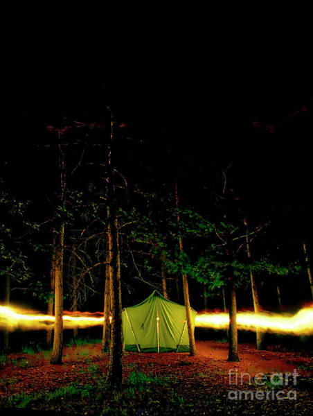 Photograph - Camping In The Deep Woods   by Tom Jelen