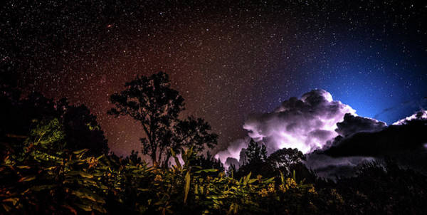 Photograph - Camping On The Volcano by T Brian Jones