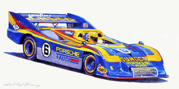Painting - Can Am Porsche 917 by David Lloyd Glover