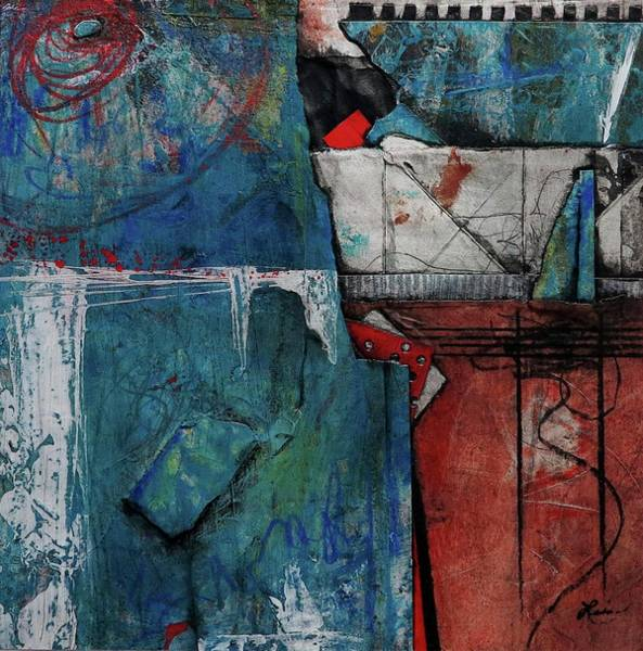 Acrylic Mixed Media - Can We Regain Our Humanity? by Laura Lein-Svencner