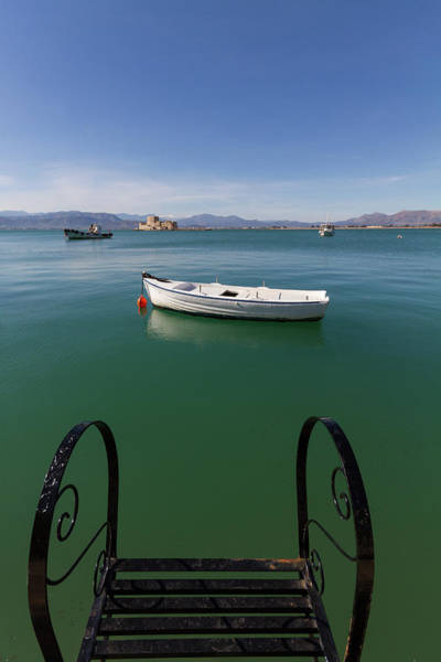 Wall Art - Photograph - Can You Step Into The Fishing Boat? by Iordanis Pallikaras
