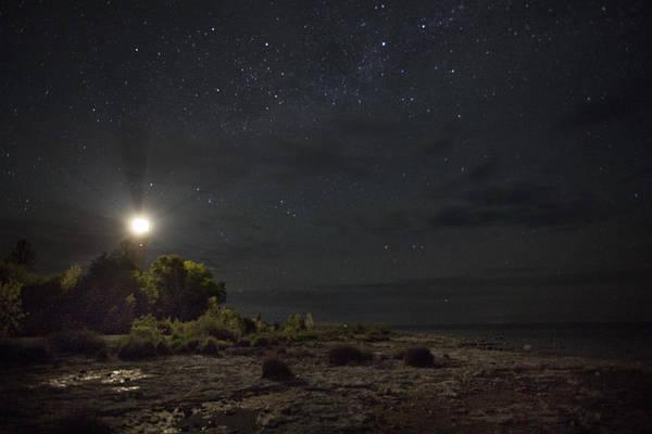 Photograph - Cana At Night by CA  Johnson