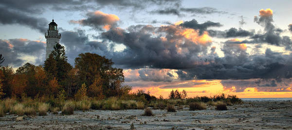Photograph - Cana Island At Dawn by CA  Johnson