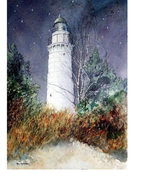 Cana Island Light House Art Print