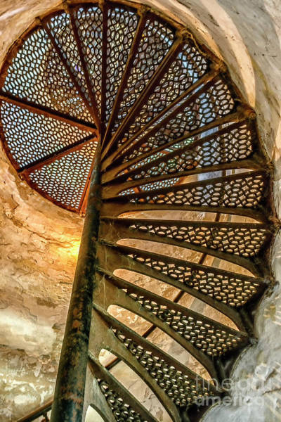 Photograph - Cana Island Lighthouse Staircase by Thomas R Fletcher