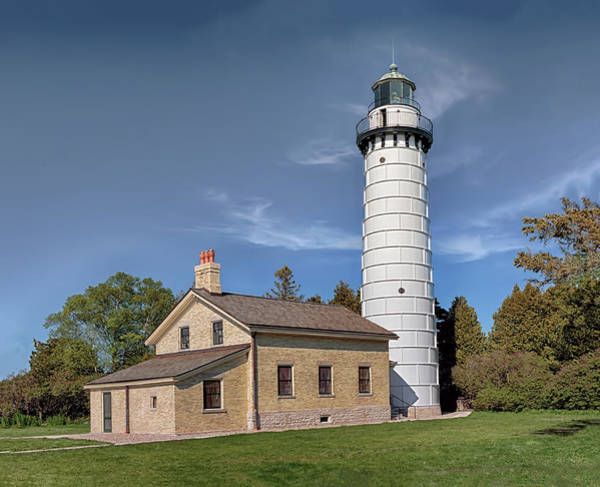 Photograph - Cana Island Lighthouse by Susan Rissi Tregoning